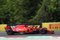 Hongarije: Vettel het snelst in tweede training - Vandoorne voorlaatste