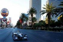 Formule E bolide aan het publiek getoond in Las Vegas (+ Foto's & video)
