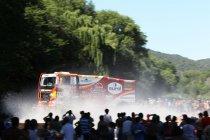 Etappe 2 trucks: Marcel Van Vliet pakt de leiding na zware crach van Mardeev en pech Loprais