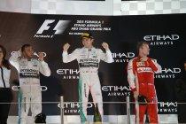 Abu Dhabi: Hattrick voor Rosberg na nieuwe zege
