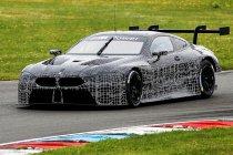 BMW M8 GTE werkt eerste test af (+ Foto's)