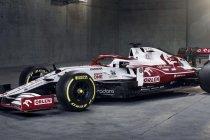 Alfa Romeo Racing toont nieuwe F1-wagen
