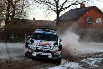 Rally Liepaja-Ventspils: 5 op 6 voor Breen, maar Ketomaa nipt leider