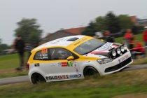 Geko Ypres Rally: De twee VW Polo GTI's halen het einde in een zeer moeilijke wedstrijd