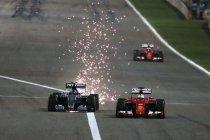 Bahrein: Hamilton wint maar Räikkönen voorkomt 1-2 voor Mercedes