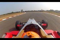 Mooie tweede plaats voor Sam Dejonghe in MRF Challenge India