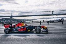 Red Bull Racing geeft demonstratie in Istanbul