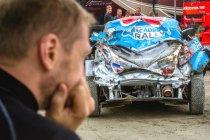 Rally van Finland: Zware crash voor Alexey Lukyanuk