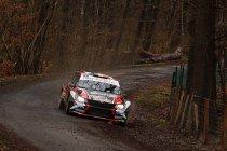 Spa Rally: Cherain reikt hand uit naar winst