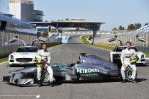 Mercedes presenteert vierde bolide sinds terugkeer (+ Foto's & video)