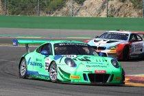 24H Spa Testday: Snelste chrono voor Herberth Motorsport Porsche