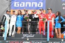 Assen race 1: Belgen starten met drie podiumplaatsen