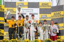 Sachsenring: Race 1: Titelpretendenten palmen podium in