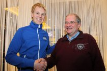 Legend Boucles de Spa: Dubbele wereldkampioen Junior P-G Andersson is geheimzinnige rijder