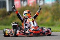 Rotax Euro Trophy schrapt laatste manche in Genk, Rillaerts en Przybylak kampioen