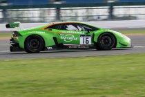 Silverstone: GRT Lamborghini op pole - Derde tijd voor Martin
