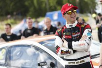 Petter Solberg in WK Rally Catalunya met VW Polo R5