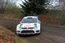 Rally van Wales: Ogier en Latvala outstanding