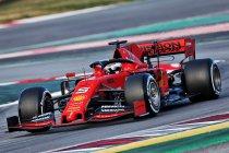 Barcelona wintertesten 1: Vettel domineert op eerste testdag
