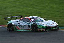 24H Spa: Na 6H: Kaspersky Ferrari haalt eerste punten binnen