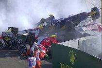 Abu Dhabi: Sprintrace geannuleerd na zware crash (+Video)
