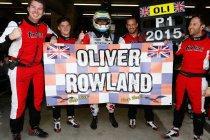 Le Mans: Oliver Rowland is de nieuwe kampioen