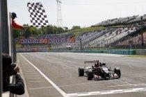 Euro F3: Hungaroring: Race 2: Esteban Ocon probleemloos naar de overwinning
