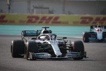 Hamilton behaalt 88ste pole positie in Abu Dhabi