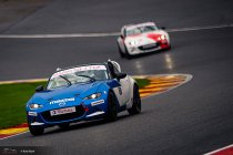 Cédric Wauters, winnende debutant in de Mazda MX-5 Cup