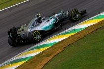 Brazilië: Opnieuw Rosberg met klein verschil