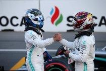 Bakoe: Bottas voert nieuwe dubbelzege Mercedes aan
