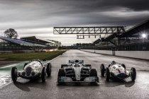 Mercedes viert 125 jaar in de autosport, met Stoffel Vandoorne