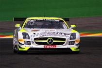 24H Spa: HTP Motorsport Mercedes rijdt eerste besttijd van het weekend