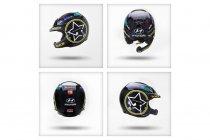 Rallye Deutschland: Neuville met speciale helm aan de start
