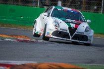 Fabrizio Giovanardi met Alfa Romeo Giulietta TCR by Romeo Ferraris naar FIA WTCR