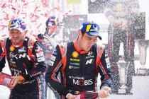 WRC: Driestrijd Ogier - Neuville - Tänak lonkt