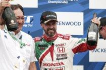 Motegi: Tiago Monteiro bezorgt werkgever Honda thuiszege (+ video) - UPDATE