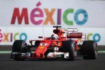 Mexico: Vijftigste pole voor Vettel