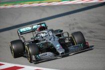 Bottas en Hamilton maken statement tijdens derde testdag