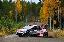WRC: Evans met panache naar de kop