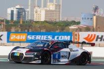 Hankook 24H Dubai: Audi-teams bezetten volledige eerste startrij
