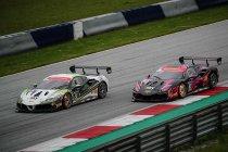 Tweemaal podium voor D2P en John Wartique in de Ferrari Challenge Europe Trofeo Pirelli