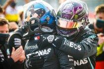 GP Emilia-Romagna: Hamilton met wat geluk, Mercedes opnieuw kampioen