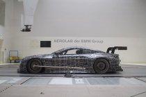 BMW gunt blik in de windtunnel bij ontwikkeling BMW M8 GTE