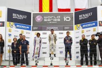 Hungaroring: Race 2: Norman Nato klopt Roberto Merhi