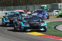 Frédéric Vervisch aan de start met Comtoyou Racing Audi RS3 LMS