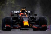 België: Verstappen op pole, Russell tweede in uitgeregend Spa