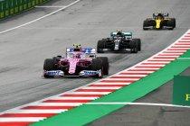 Racing Point verliest constructeurspunten, Hülkenberg racet opnieuw