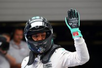 China: Rosberg start op pole, Hamilton als laatste