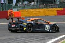 Newsflash: 24H Spa: Opnieuw zware crash, ditmaal van de #101 McLaren (Update)